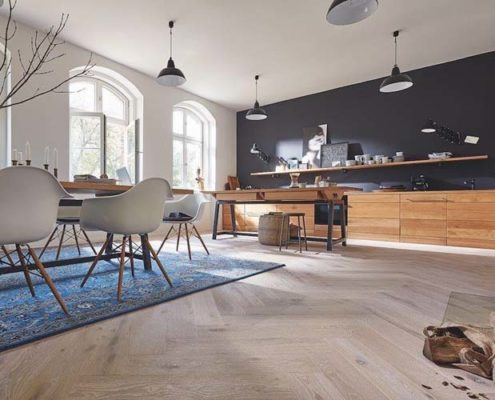 Wood flooring available in different size and finishes